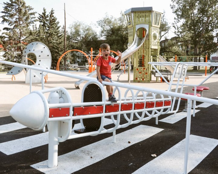 Why You've Gotta Check Out The Airport Playground inCalgary!